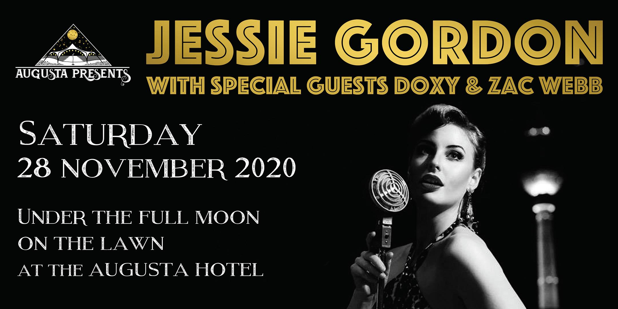Banner for Jessie Gordon Concert in Augusta, Western Australia as a link